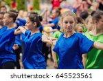 vinnytsia ukraine   may 20 ... | Shutterstock . vector #645523561