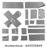 masking duct tape | Shutterstock . vector #645535849