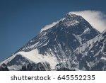 Everest Mountain Peak  The...