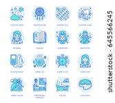 modern vector line icon of... | Shutterstock .eps vector #645566245
