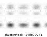 abstract halftone dotted... | Shutterstock .eps vector #645570271