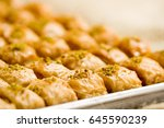 close up of a delicious... | Shutterstock . vector #645590239