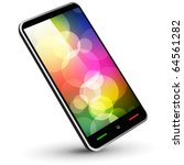 fictitious touch smartphone 3 ...   Shutterstock .eps vector #64561282