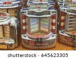 den bosch  the netherlands  ... | Shutterstock . vector #645623305