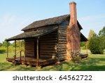 Cowpens National Battlefield Park historic cabin