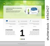 web page layout   Shutterstock .eps vector #64563427