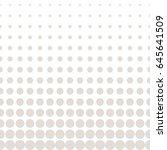 vector halftone seamless...   Shutterstock .eps vector #645641509