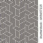 vector seamless pattern. modern ... | Shutterstock .eps vector #645657115