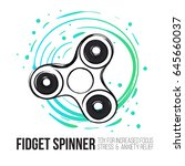 Fidget Spinner Text Info And...