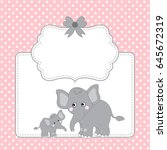 Vector Card Template With Two...