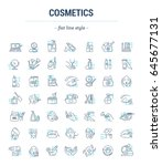 vector graphic set.isolated... | Shutterstock .eps vector #645677131