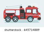 cartoon funny vector... | Shutterstock .eps vector #645714889