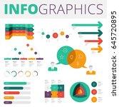 infographics design elements... | Shutterstock .eps vector #645720895