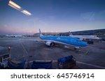 paris  france   january 18 ...   Shutterstock . vector #645746914