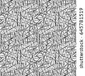 vector seamless pattern.... | Shutterstock .eps vector #645781519