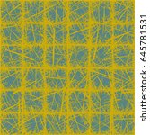 vector seamless pattern.... | Shutterstock .eps vector #645781531