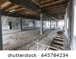 abandoned factory   urban... | Shutterstock . vector #645784234