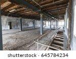 abandoned factory   urban... | Shutterstock . vector #645784234
