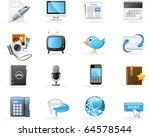 communication channels and... | Shutterstock .eps vector #64578544