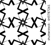 seamless pattern. endless... | Shutterstock .eps vector #645787261