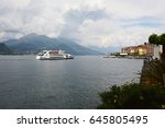 bellagio  italy   may 14  2017  ... | Shutterstock . vector #645805495