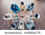 all for one  and one for all ... | Shutterstock . vector #645806179