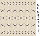seamless geometric pattern.... | Shutterstock .eps vector #645818569