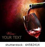 wine | Shutterstock . vector #64582414