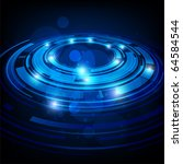 abstract retro technology... | Shutterstock .eps vector #64584544