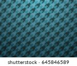 blue classic checked... | Shutterstock .eps vector #645846589
