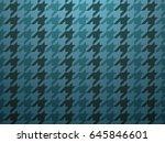 blue classic fashion textile... | Shutterstock .eps vector #645846601