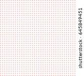 vector dot beige pattern.... | Shutterstock .eps vector #645849451