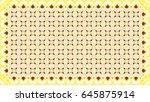 colorful raster pattern for... | Shutterstock . vector #645875914