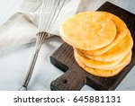 dietary healthy food. the...   Shutterstock . vector #645881131