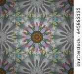 endless vector texture for... | Shutterstock .eps vector #645883135