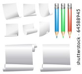 vector collection of various...   Shutterstock .eps vector #64588945