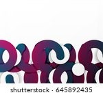 circle geometric abstract... | Shutterstock .eps vector #645892435