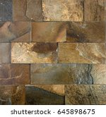 natural stone. brick stone wall ... | Shutterstock . vector #645898675