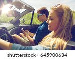 leisure  road trip  travel and...   Shutterstock . vector #645900634