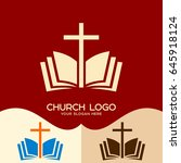 Church Logo. Cristian Symbols....