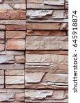 closeup texture of rough... | Shutterstock . vector #645918874