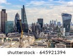 cityscape of london | Shutterstock . vector #645921394
