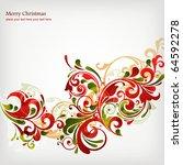 christmas background | Shutterstock .eps vector #64592278