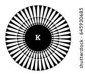 surface of circular element.... | Shutterstock .eps vector #645930685