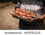 Barbecued Pork Skewers Recipe....