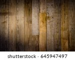 old reclaimed wood background... | Shutterstock . vector #645947497