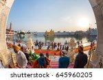 amritsar  india   march 18 ... | Shutterstock . vector #645960205