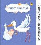 Illustration Of The Stork...