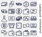 payment icons set. set of 25... | Shutterstock .eps vector #645982891
