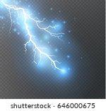 vector electric lightning bolt. ...